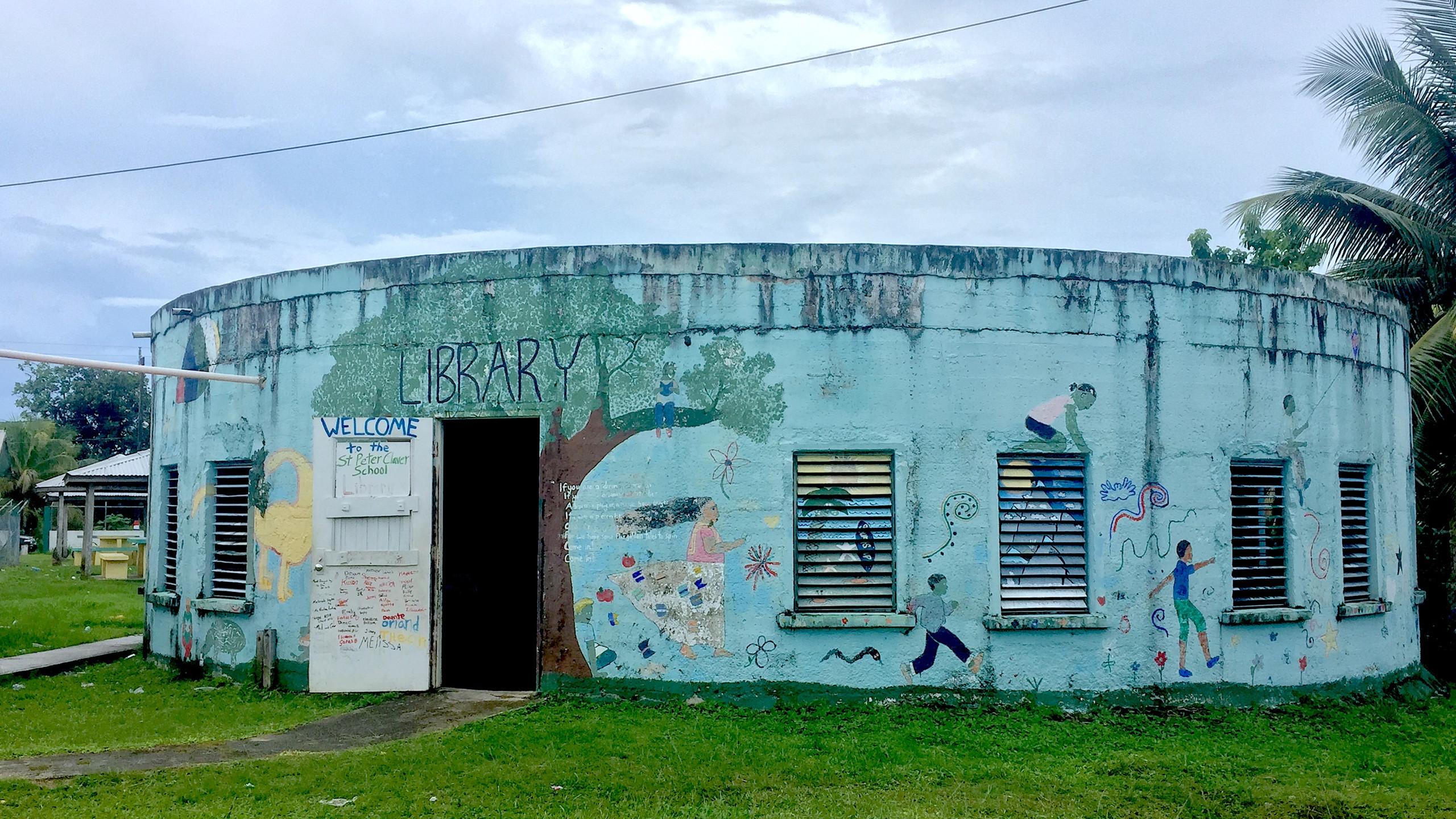 School library, Punta Gorda Belize