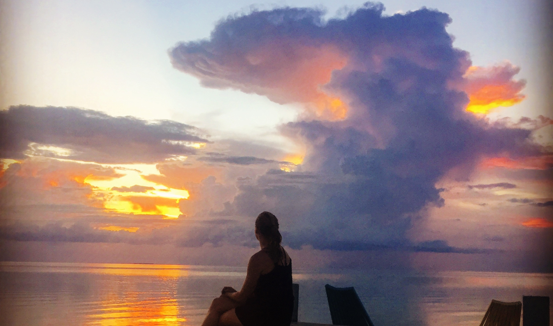 Sunset at Secret Beach