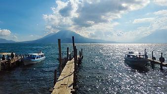 Lake Atitlan, Lago Atitlan, Guatemala