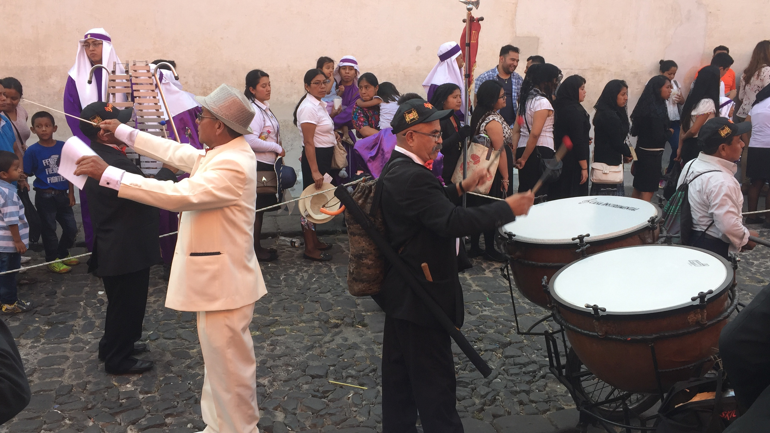 Music during the processions