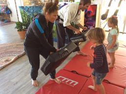 Parent visit - Martial Arts