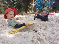 Fun in the sandpit