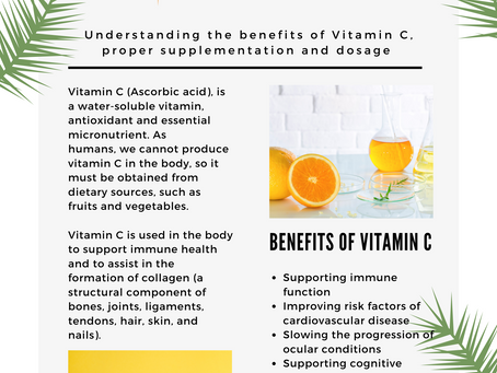 The Benefits of Vitamin C