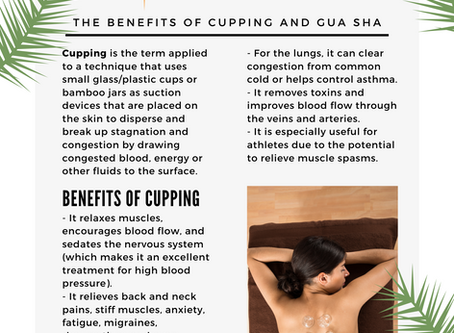 Benefits of Cupping and GuaSha