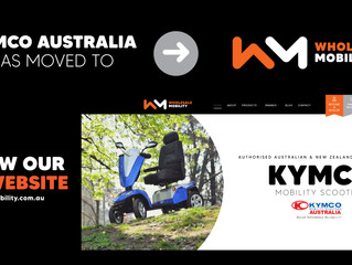 Kymco Mobility Scooters Australia now available through Wholesale Mobility