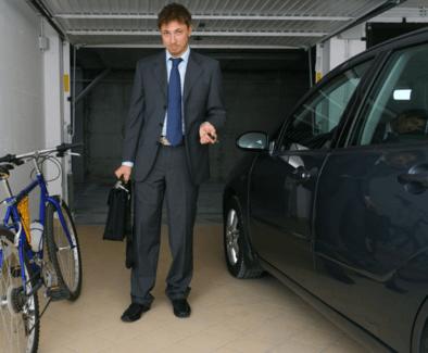 Business man choosing ebike or car.png