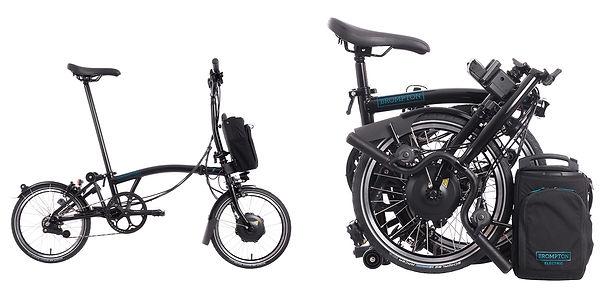 Brompton H2L 2 Speed Folding Electric Bike