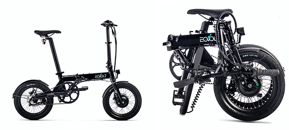 "Eovolt City One 16"" Folding Electric Bike"