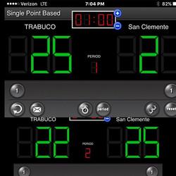 Game 1_ Trabuco 25-San Clemente 21_Game 2_  San Clemente 25- Trabuco 22