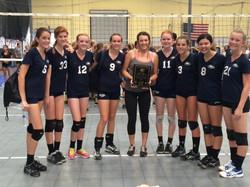 2014 Freshmen B Team w/Coach