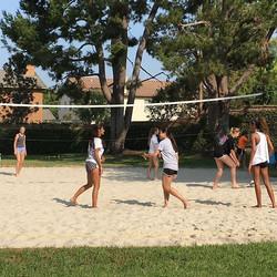 Sand court- BBQ tourney