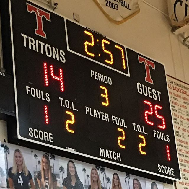 Trabuco takes the 3rd game vs San Clemente