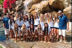 2014 Varsity Team with coaches