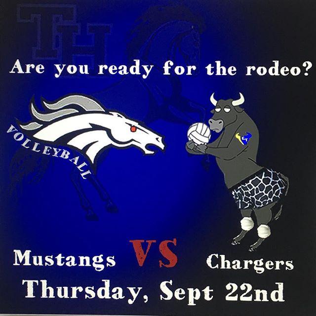 THHS Mustangs vs El Toro tomorrow Sept 22nd at El Toro