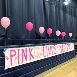 Pink lives matter! 🎀#thhspinkout