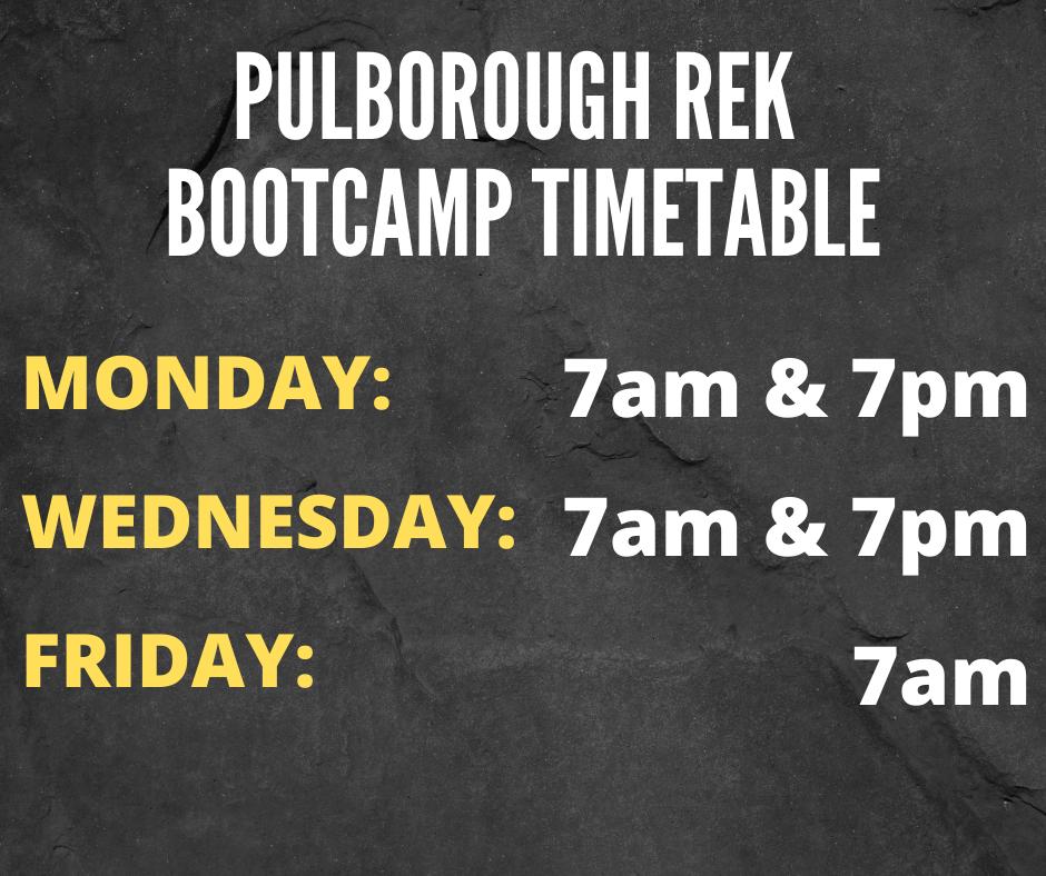 pulborough primal bootcamp timetable