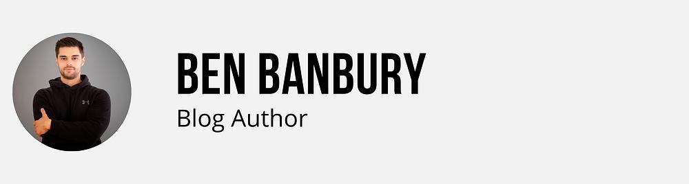 ben banbury blog bio