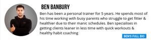 Primal personal training - Ben's bio. about Ben