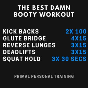 bum workout plan