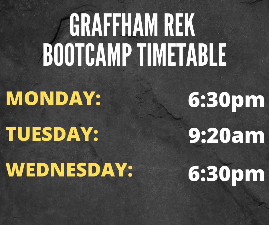 graffham primal bootcamp timetable