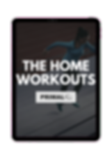 Home workout banner