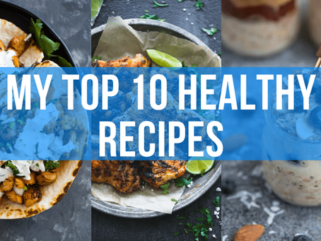 My Top 10 Healthy Recipes That Take Less Than 20 Minutes To Cook!