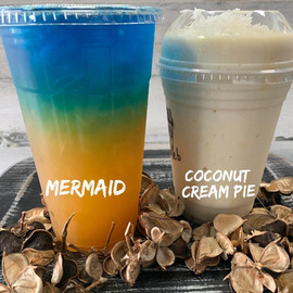 Mermaid & Coconut Cream Pie