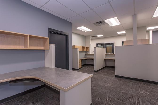 Nipissing University Registrar's Office & Washroom Upgrades