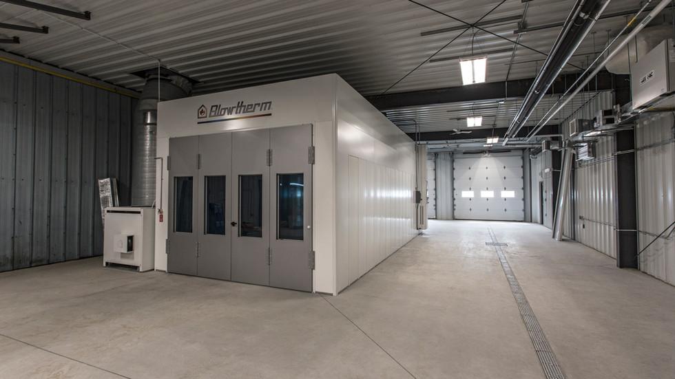 Carstar Collision Centre Paintbooth Expansion