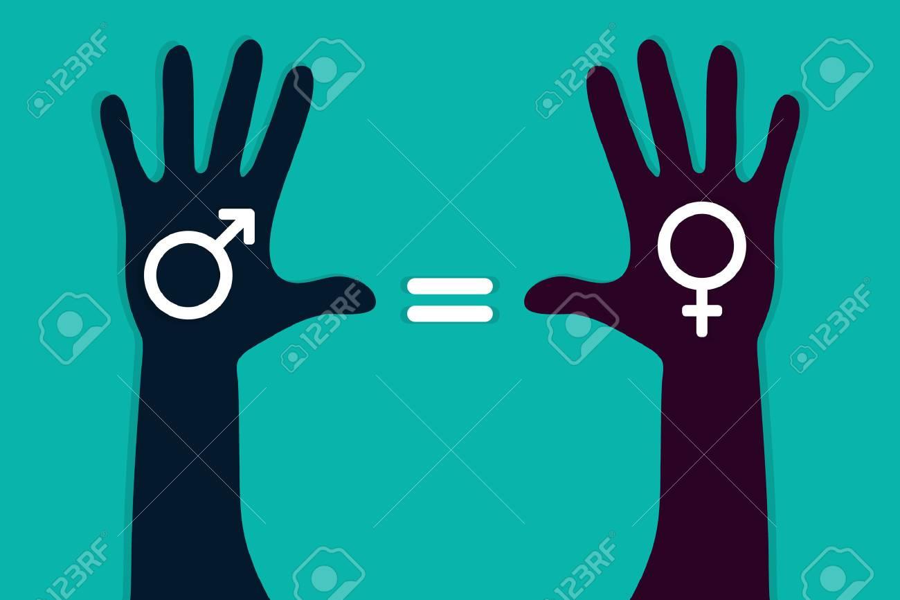 manos-coloridas-con-símbolo-masculino-y-