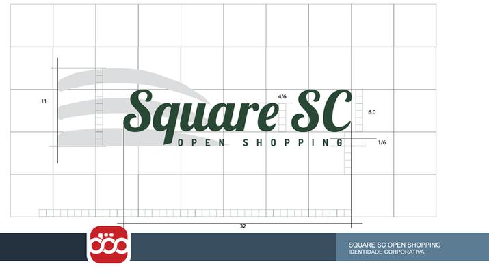 Reposicionamento de Marca, Projeto de Sinalização e WEB. #SquarescOpenShopping