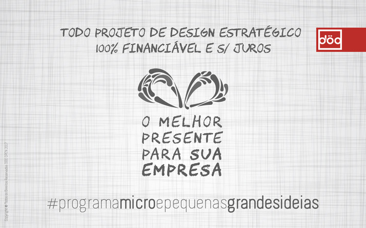 Programa Micro e Pequenas Grandes Ideias