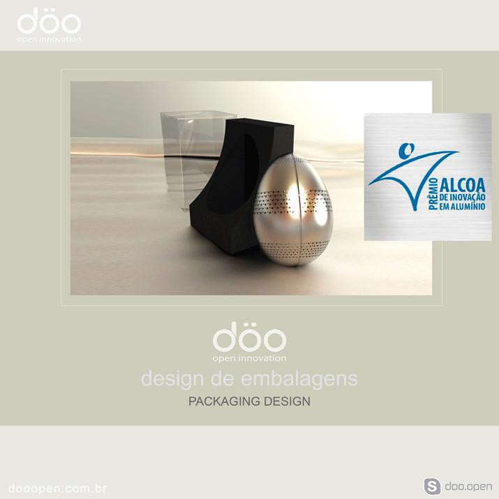 Prêmio Alcoa de Inovação Tecnológica -Design de Embalagem da DÖO Florianópolis