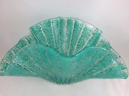 Teal green Sea Fan Vessel