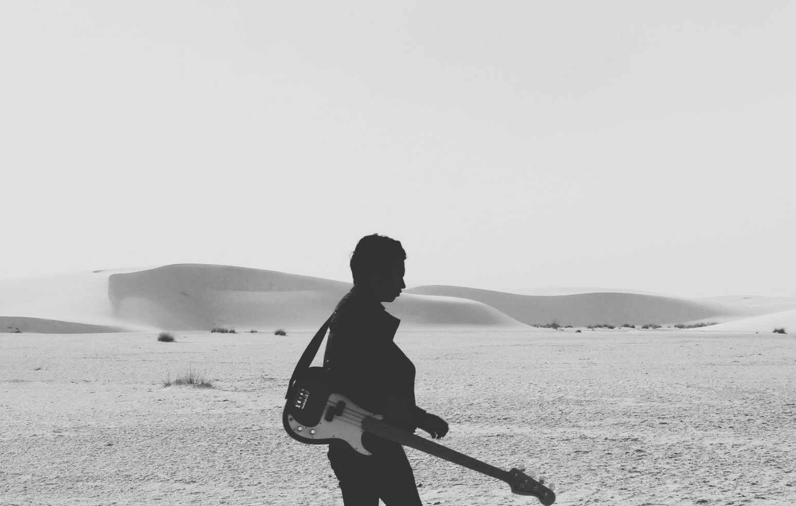 Walking With Guitar