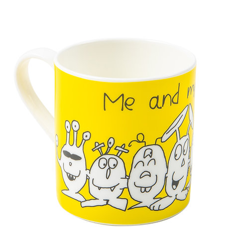 Fine Bone China Mug - Me and my friends