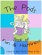 Book front fun and happiness NEW white l
