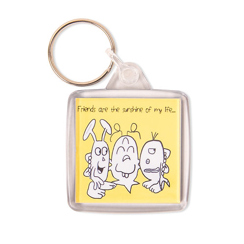 Keyring - Friends are the sunshine of my life