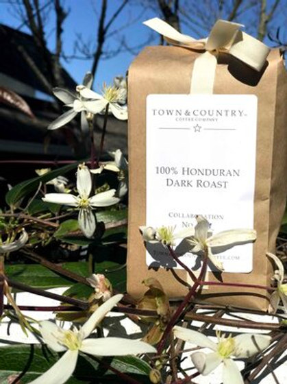 100% HONDURAN – DARK Coffee from Town & Country Coffee Company
