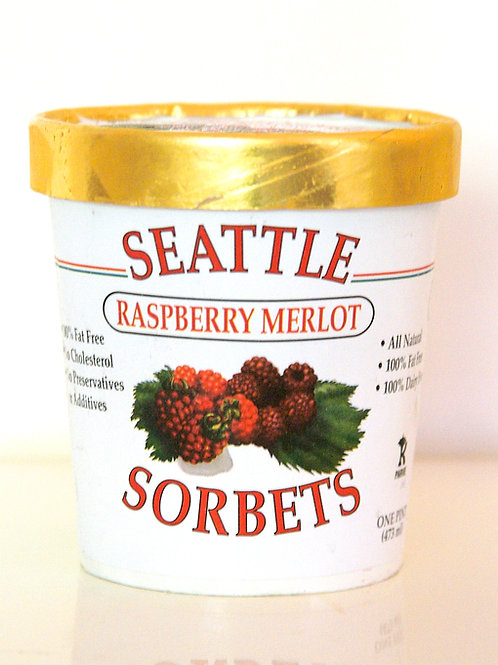 Raspberry Merlot Sorbet from Seattle Sorbets