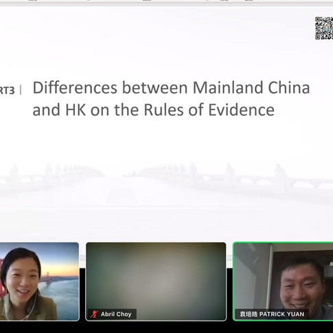 Webinar on Dispute Resolution in the Greater Bay Area - Collaboration with Chinese law firms