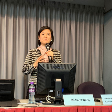 Seminar on Cross-border Legal Issues delivered by Carol Wong, Barrister-at-Law, Sir Oswald Cheung's Chambers