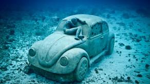 如果你活在海底,该怎么去破坏环境?