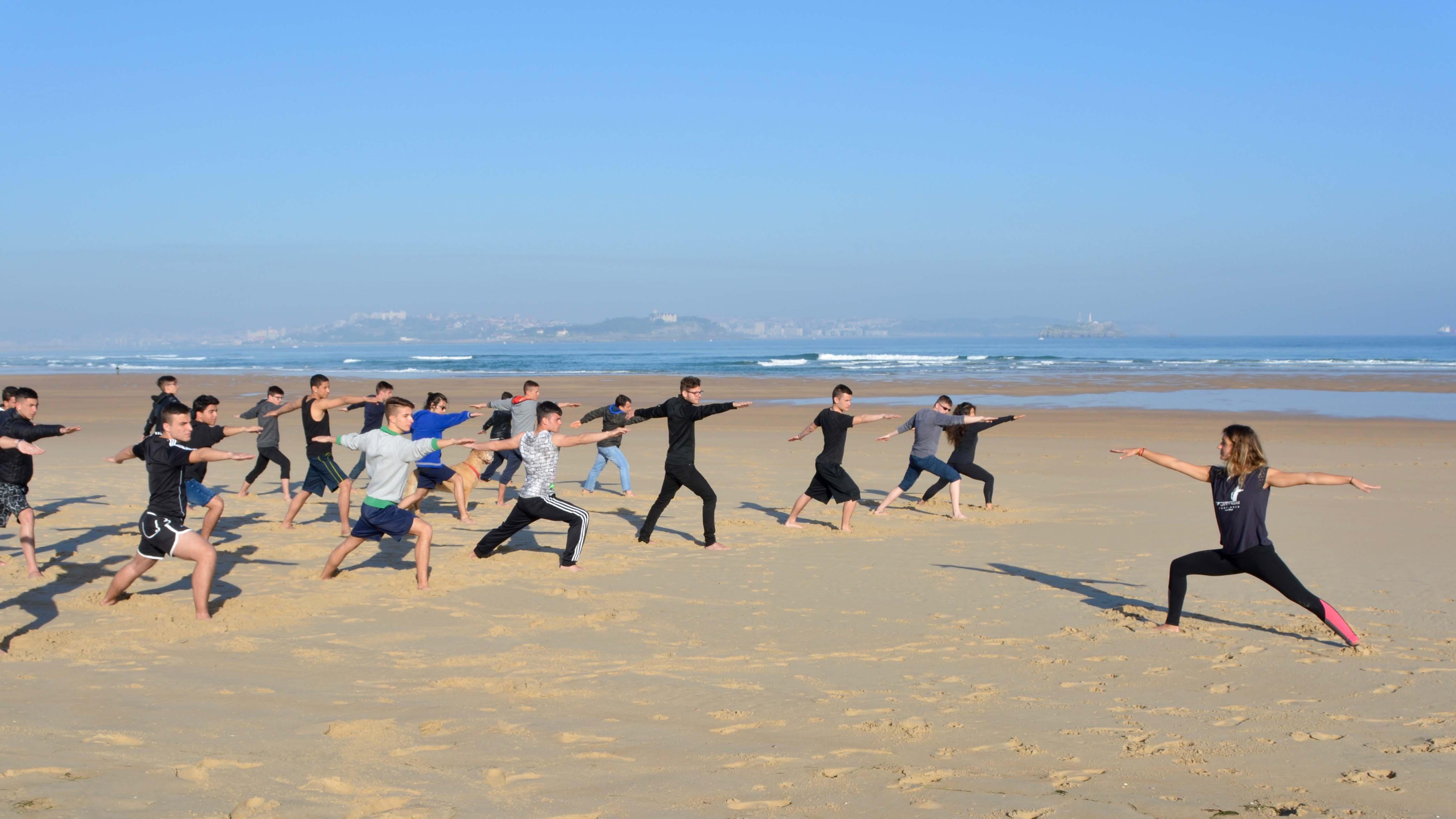 yoga course somo loredo