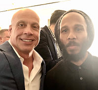 Kitt Wakeley and Ziggy Marley