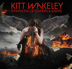 Sinners and Saints Album Cover With Red