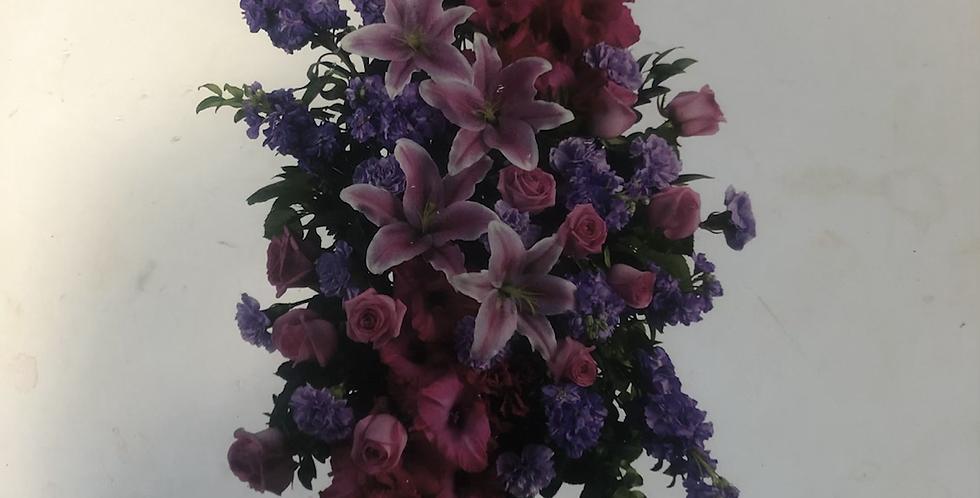 Standing Easel - Pinks & Purples