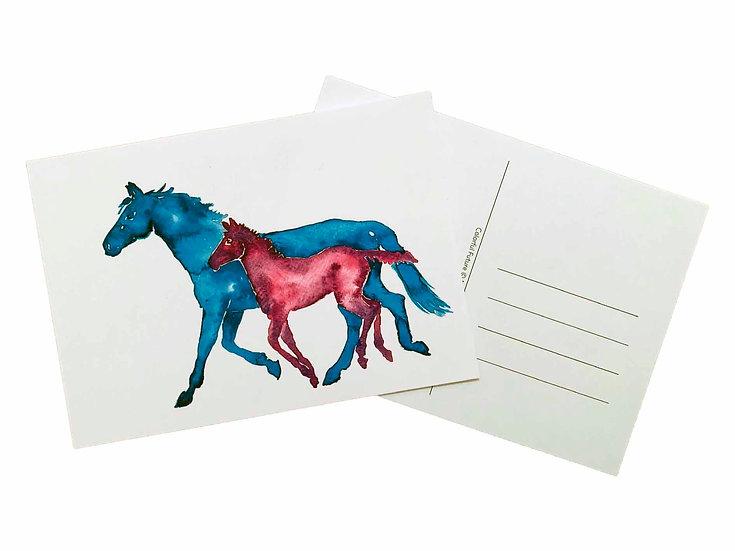 Colorful Future - Postcard