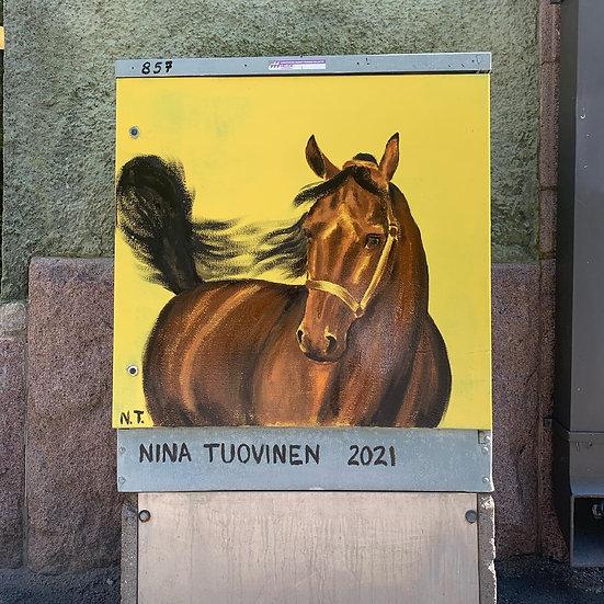 Balboa - electric box painting
