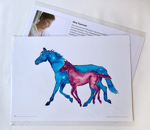 Colorful Future - A4 Print